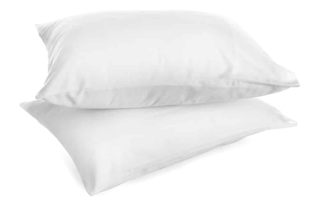 what is a down pillow made of