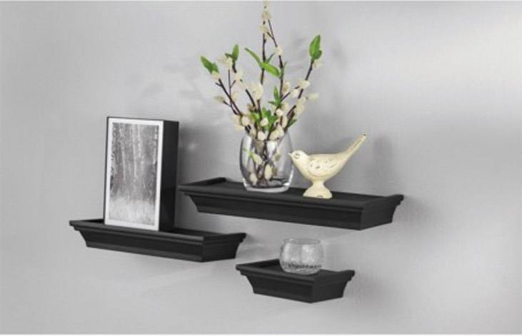 Wall Shelves from Walmart