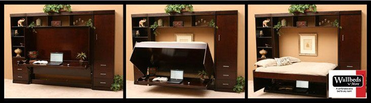 Wallbeds n more Desk Bed