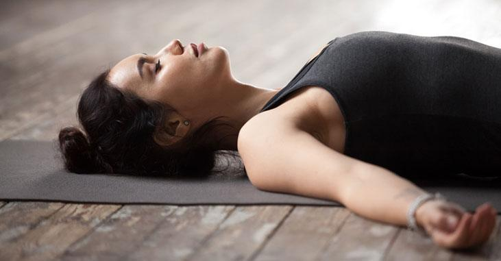 Corpse Pose (Savasana) - yoga poses for sleep